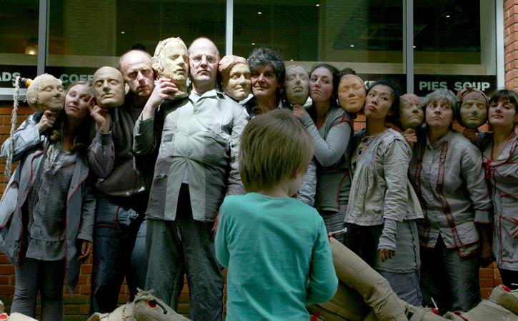 Imaginary Friends - Birmingham (2012) - Six Summer Saturdays.  Photography by Jez Arrow (WRAS).